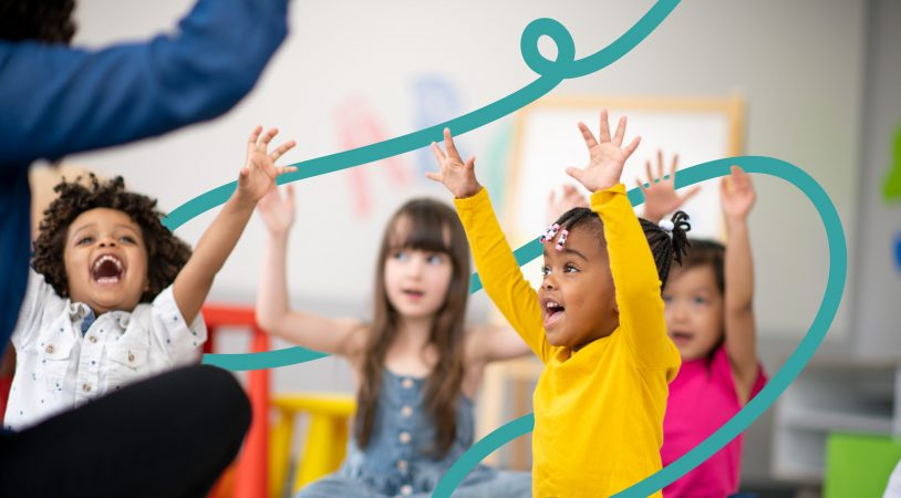 Kids playing can help you with choosing an elementary school.